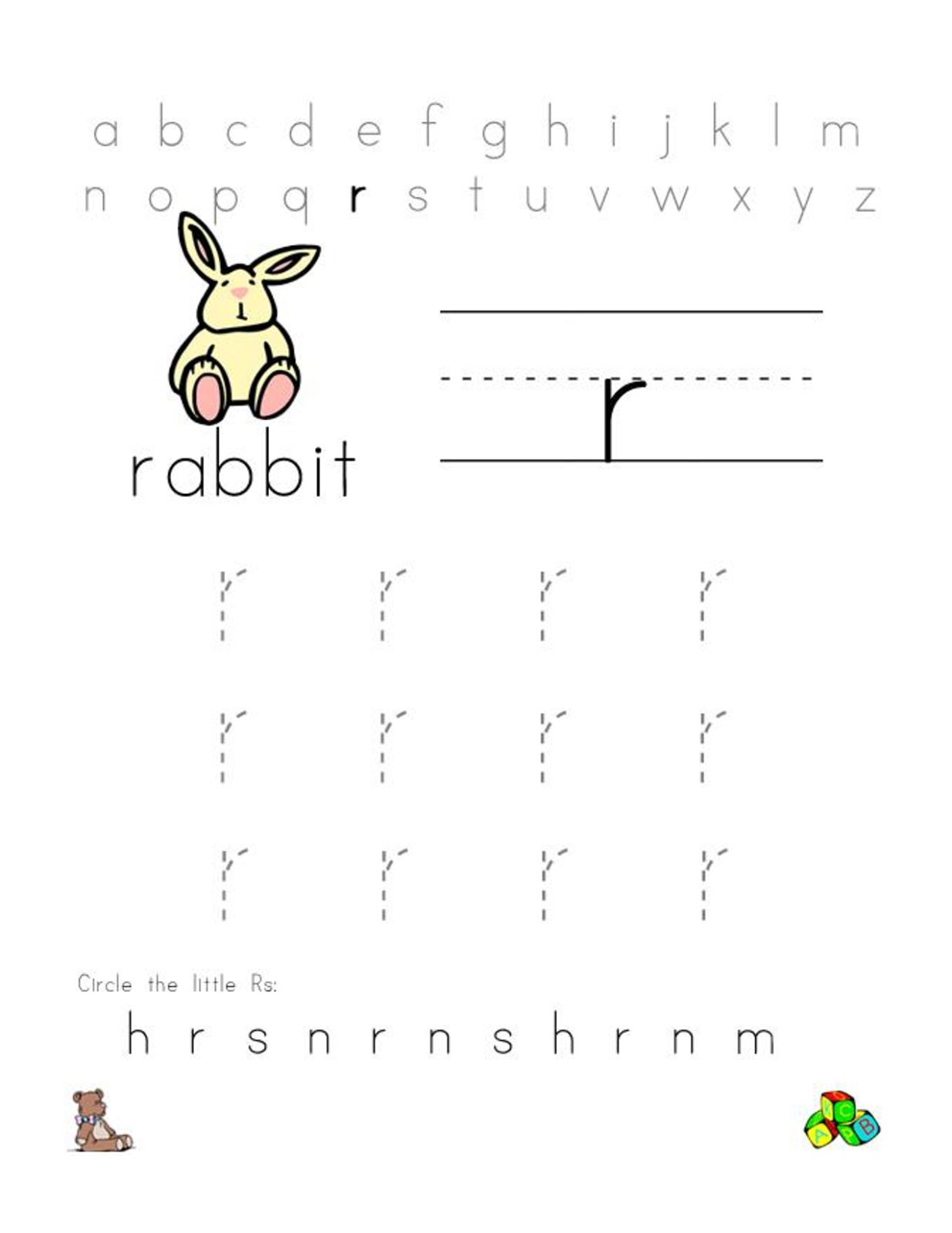 free-alphabet-worksheets-rabbit