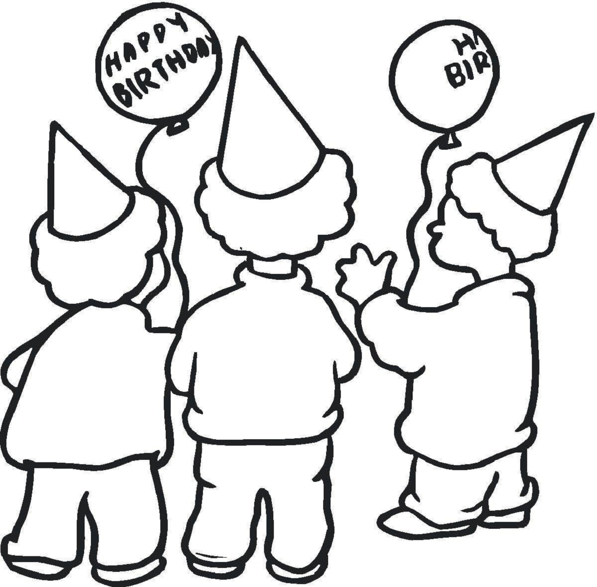 happy-birthday-color-pages-hats
