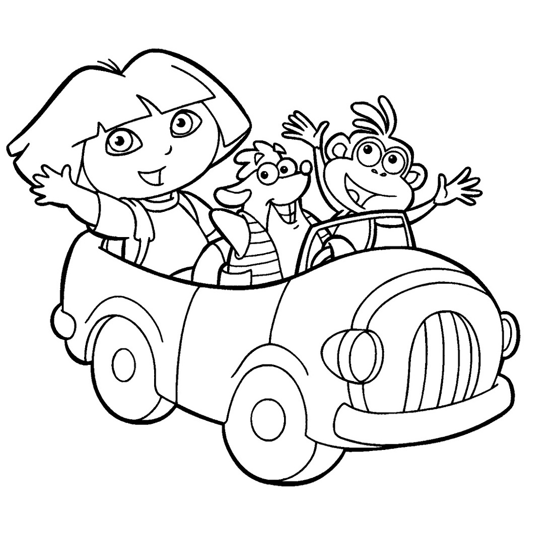 kids-activity-pages-dora-coloring