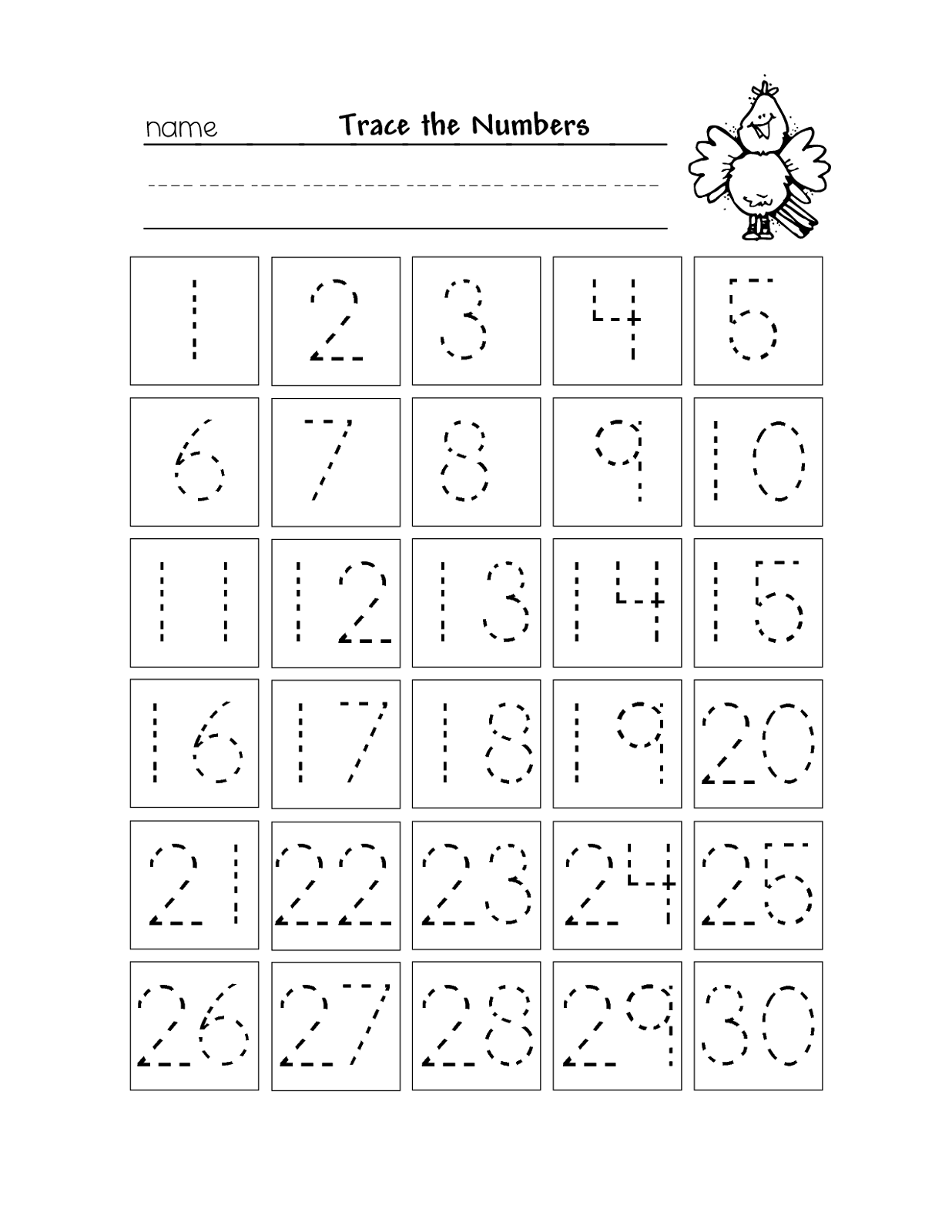 trace-the-numbers-1-30