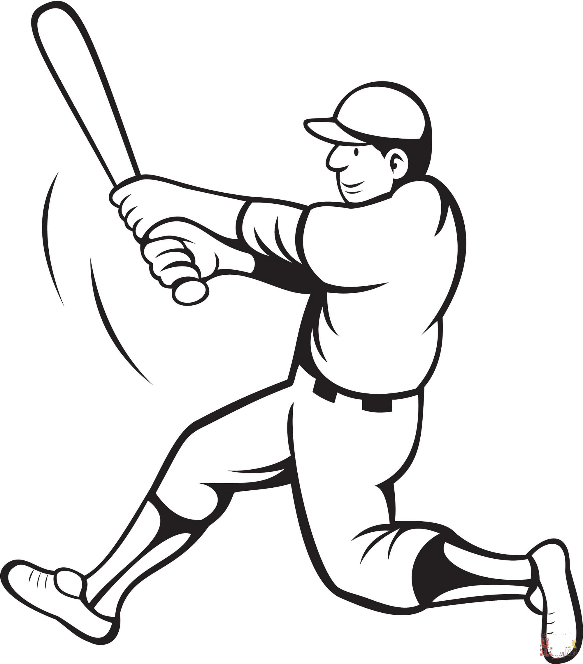 baseball-color-pages-player