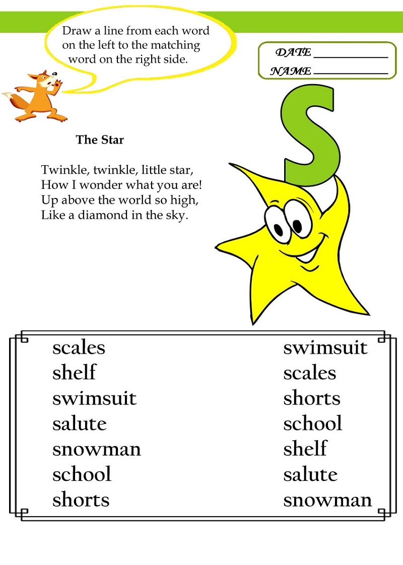 letter-s-worksheets-activity