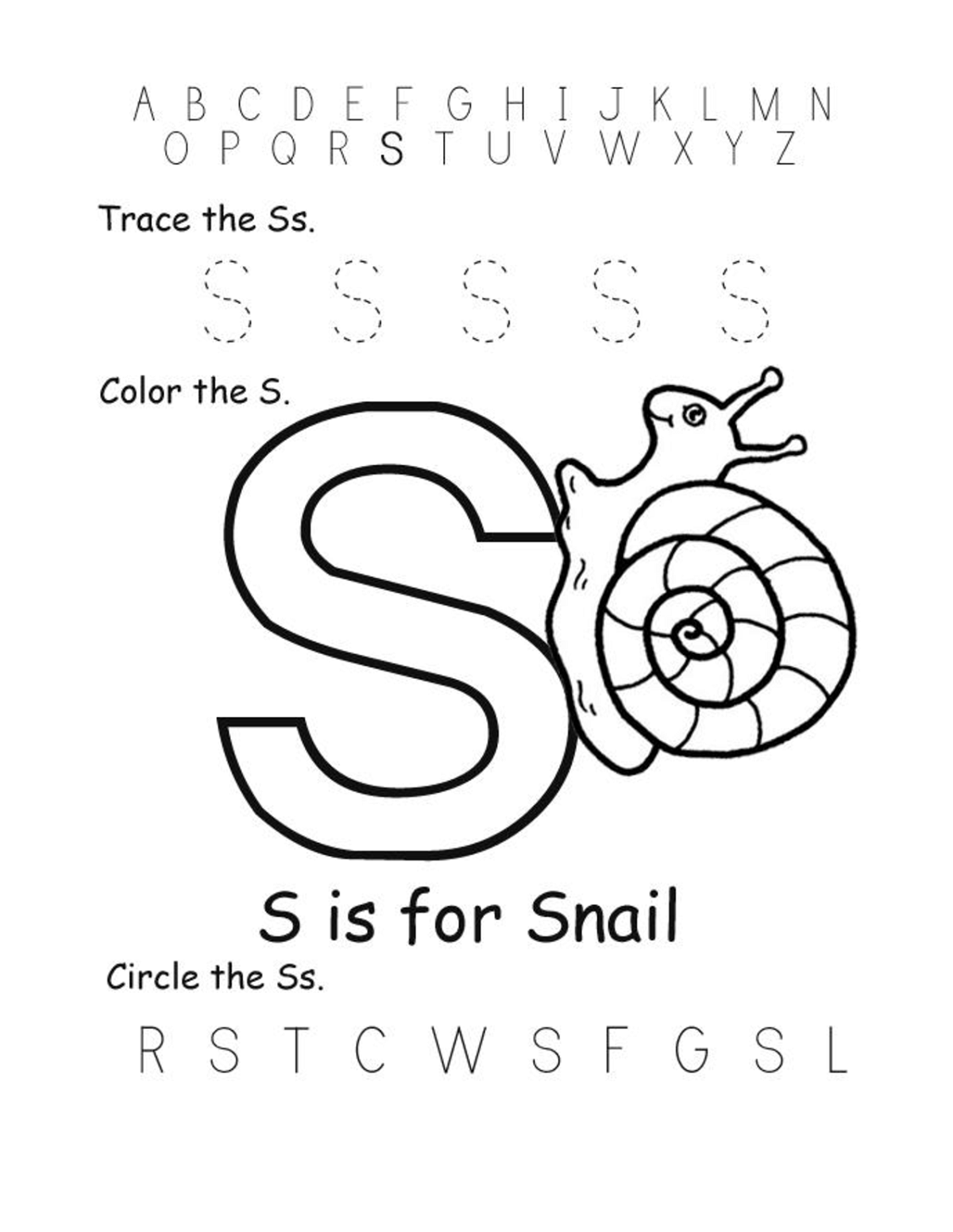 letter-s-worksheets-printable