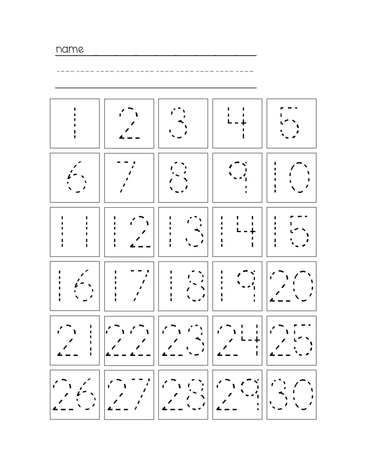 trace-number-worksheets-1-30