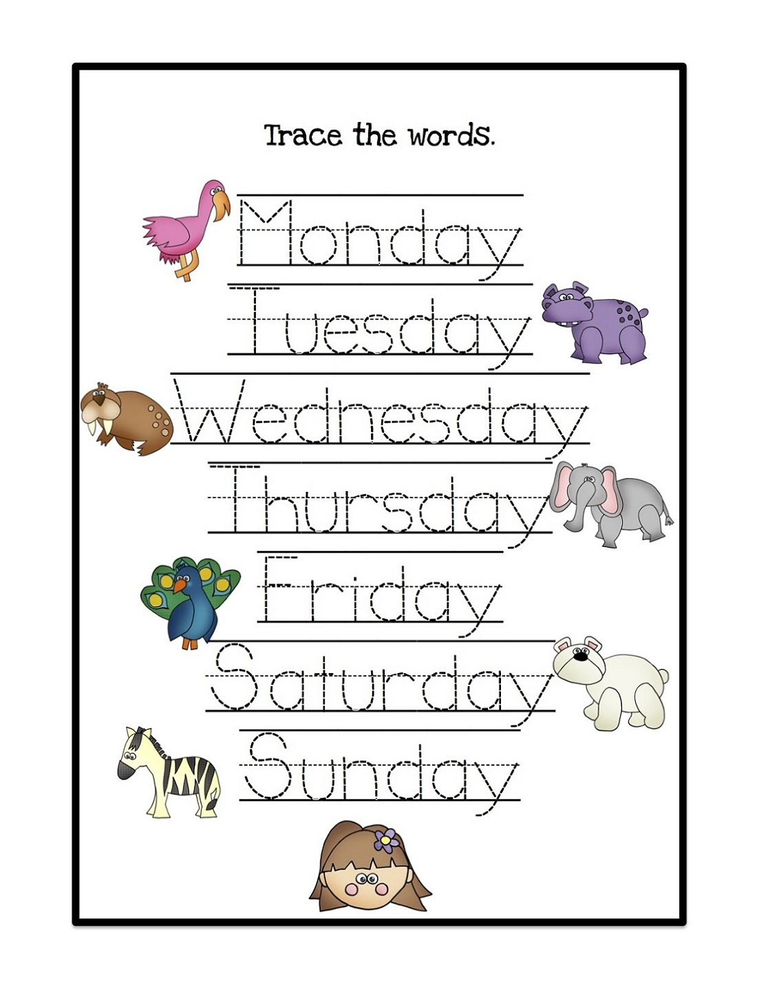 days-of-the-week-activity-tracing