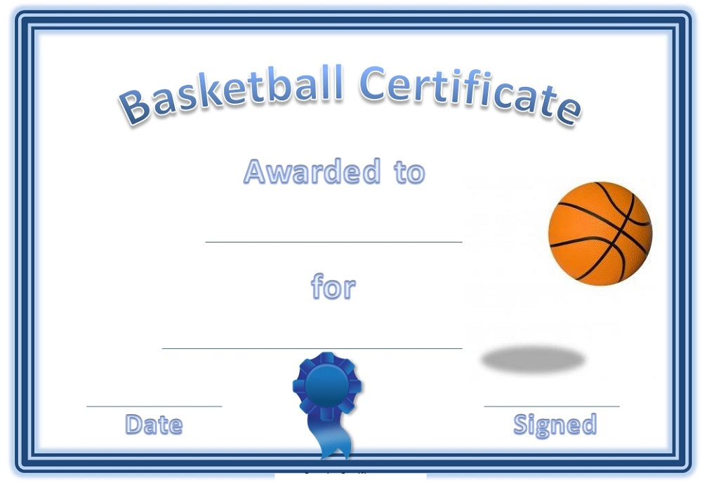 free-basketball-certificates-template