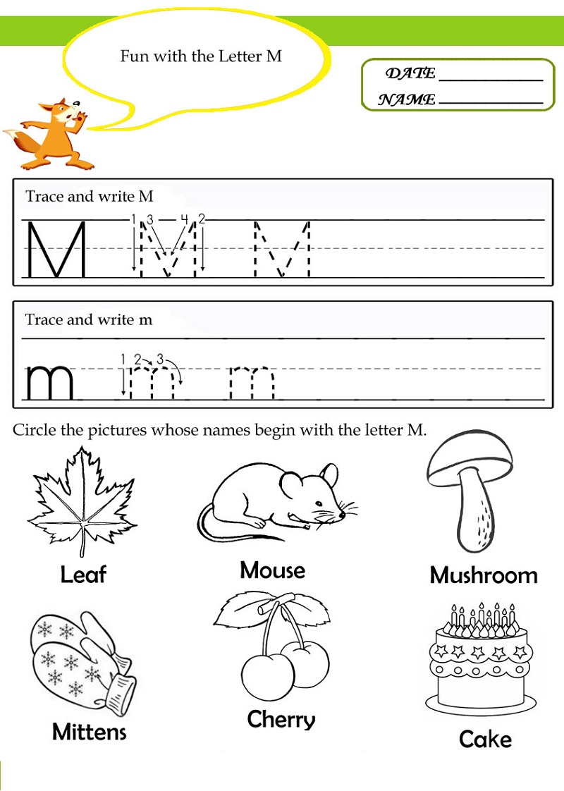 letter-m-worksheets-fun