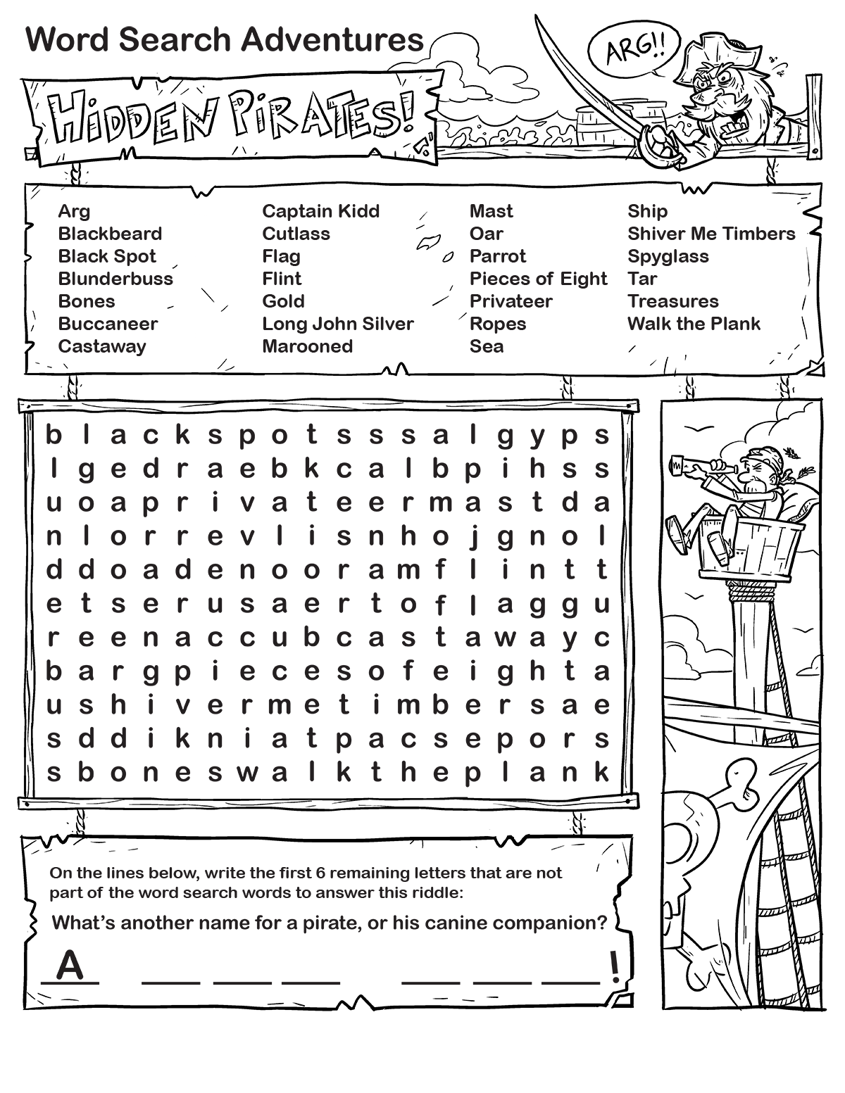 pirate-word-search-printable