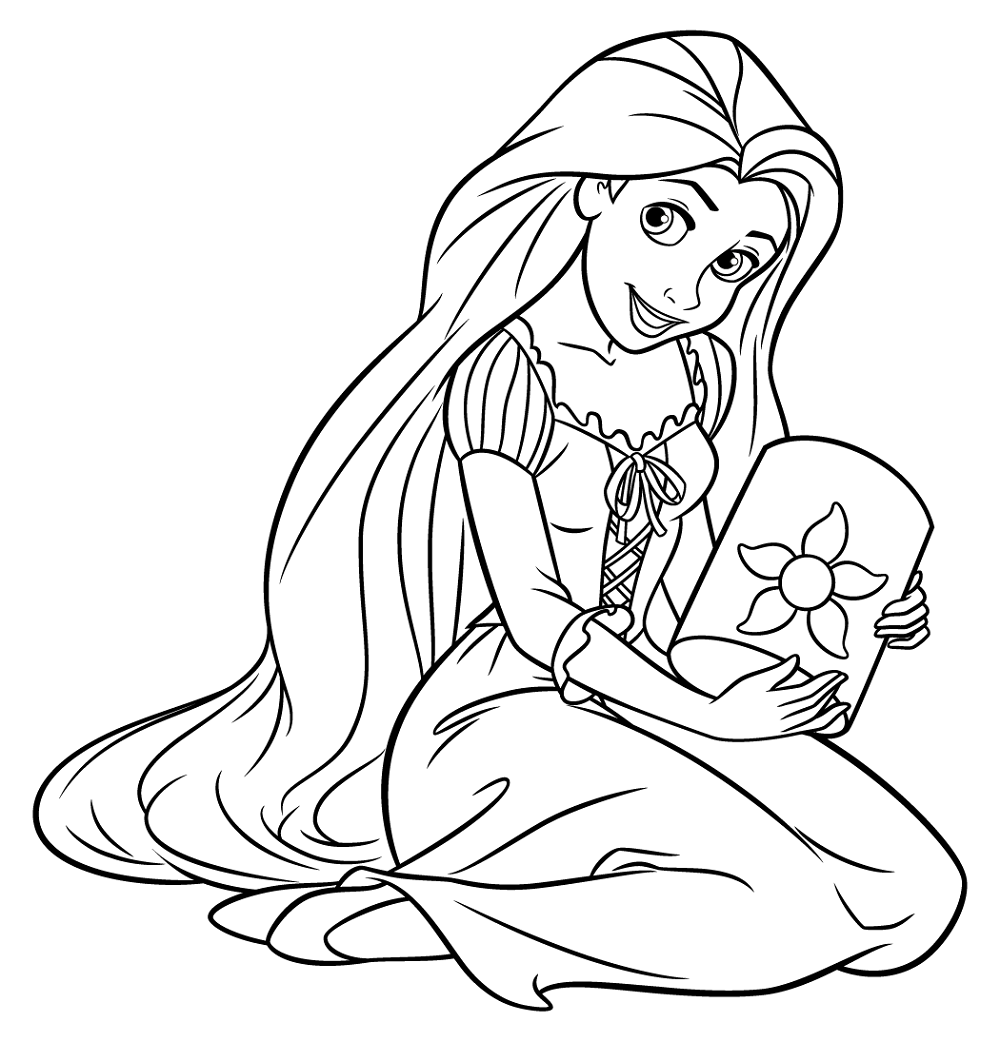 rapunzel-color-pages-worksheet