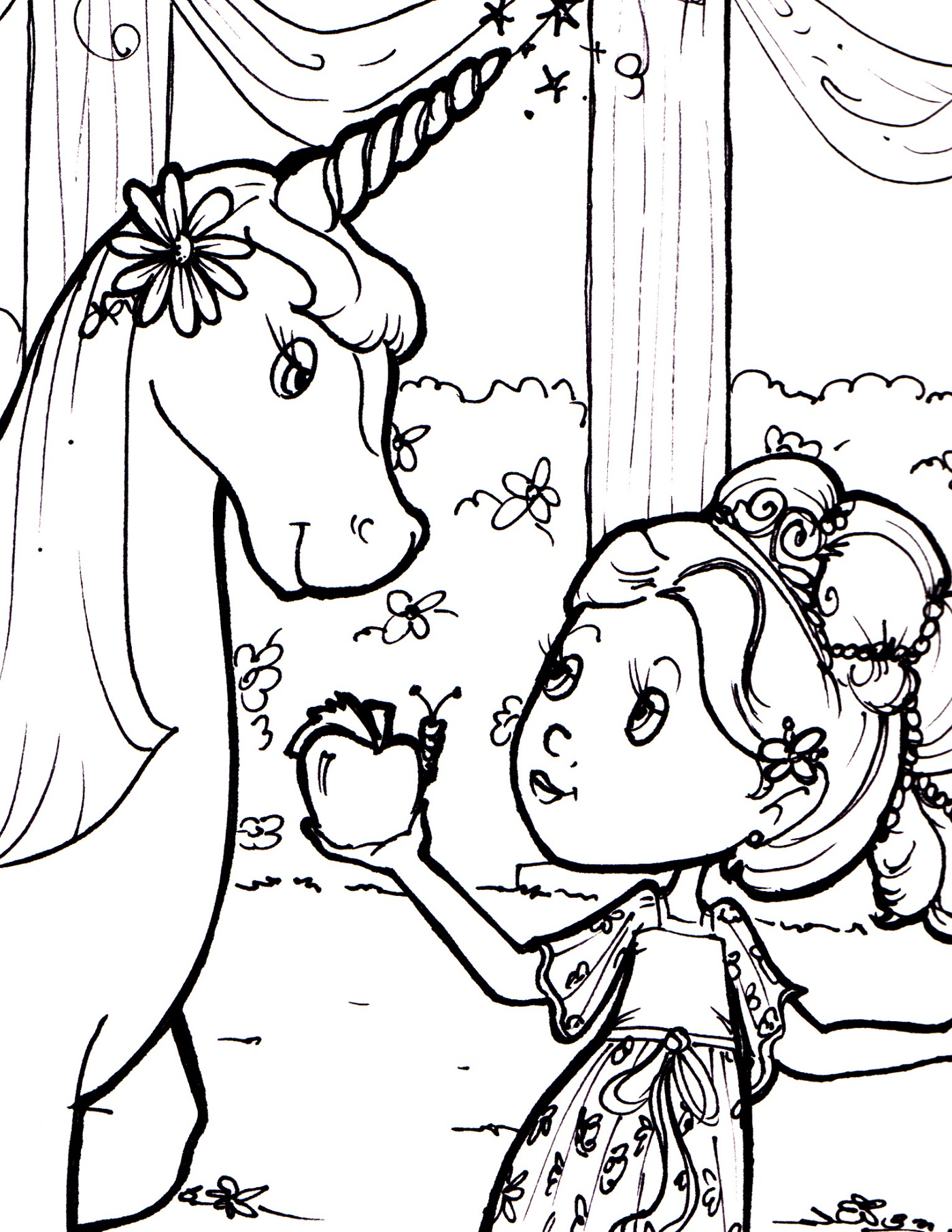 unicorn-color-page-for-kids