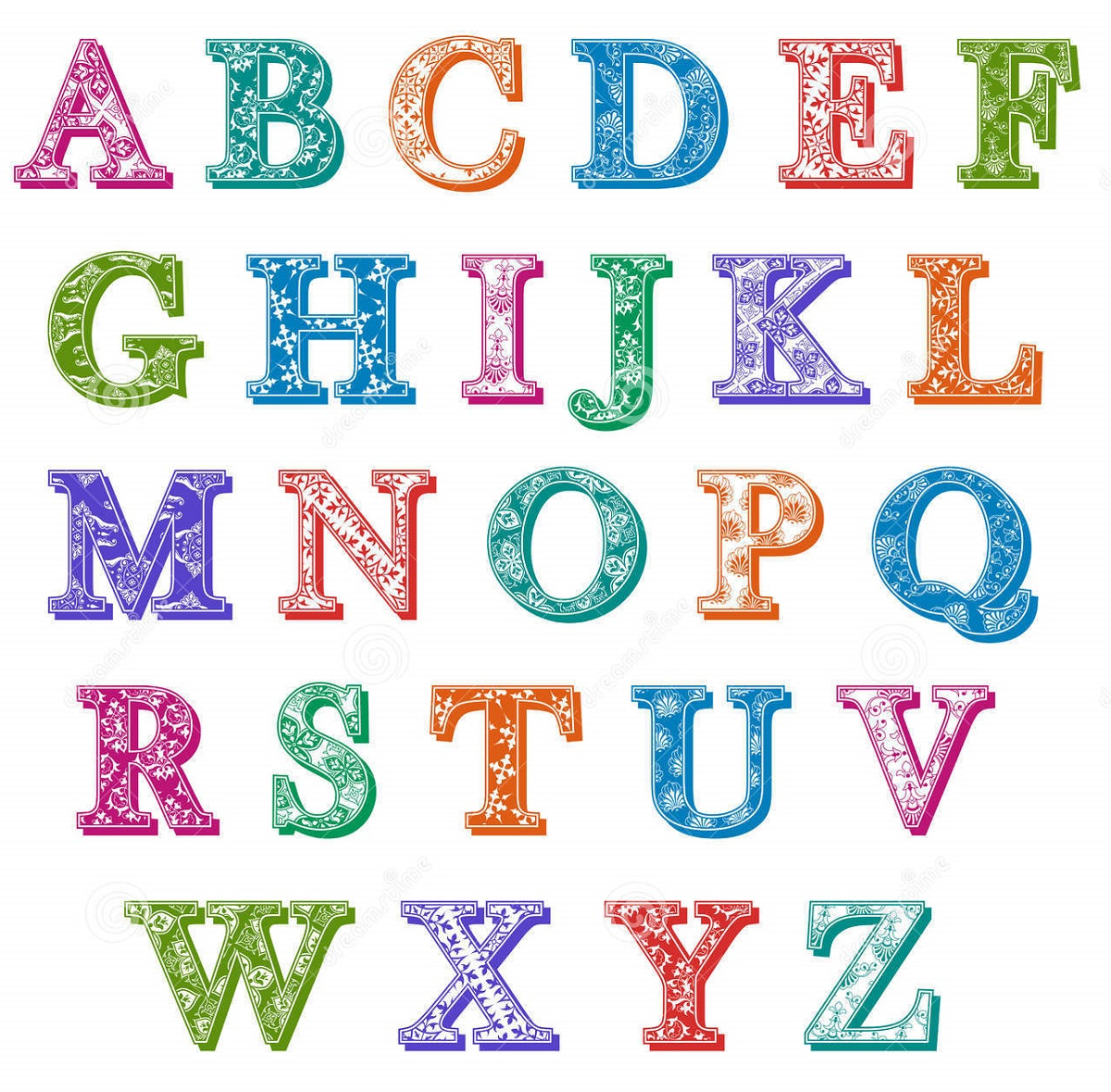 upper-case-alphabet-colorful
