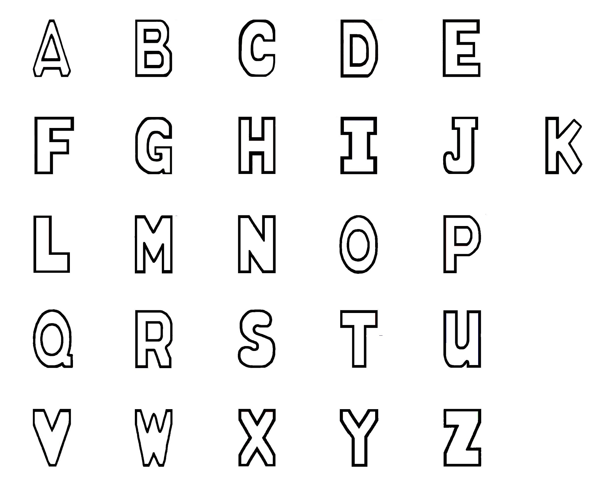 upper-case-alphabet-printable