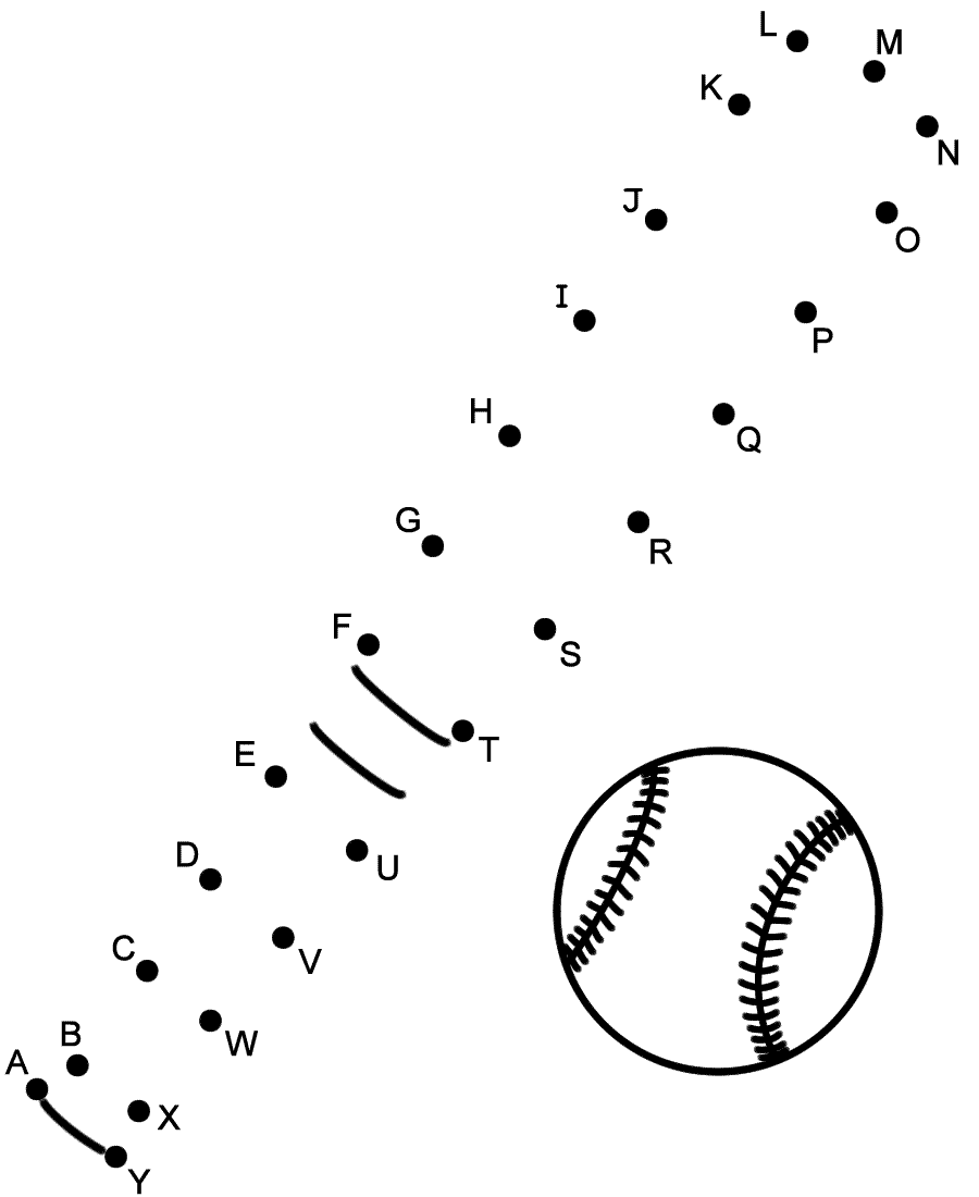 baseball activities for kids printable