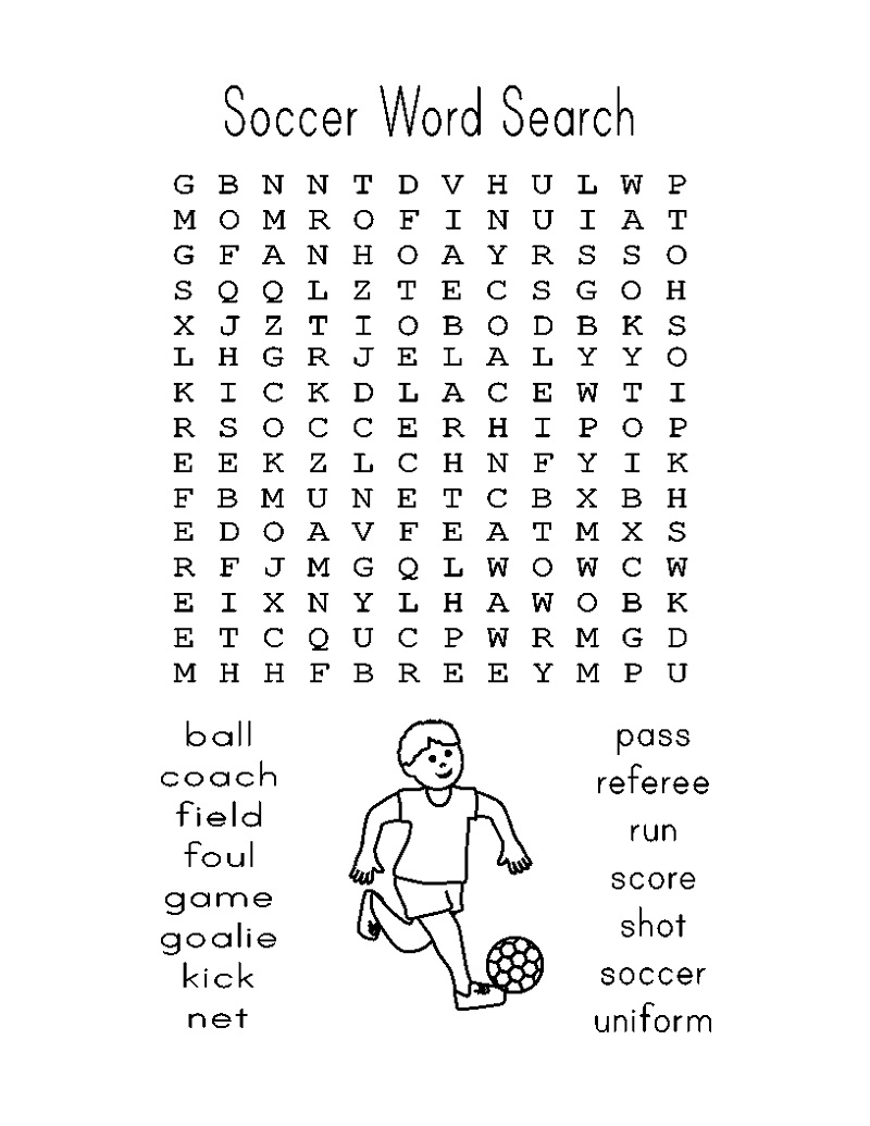 football-word-search-easy