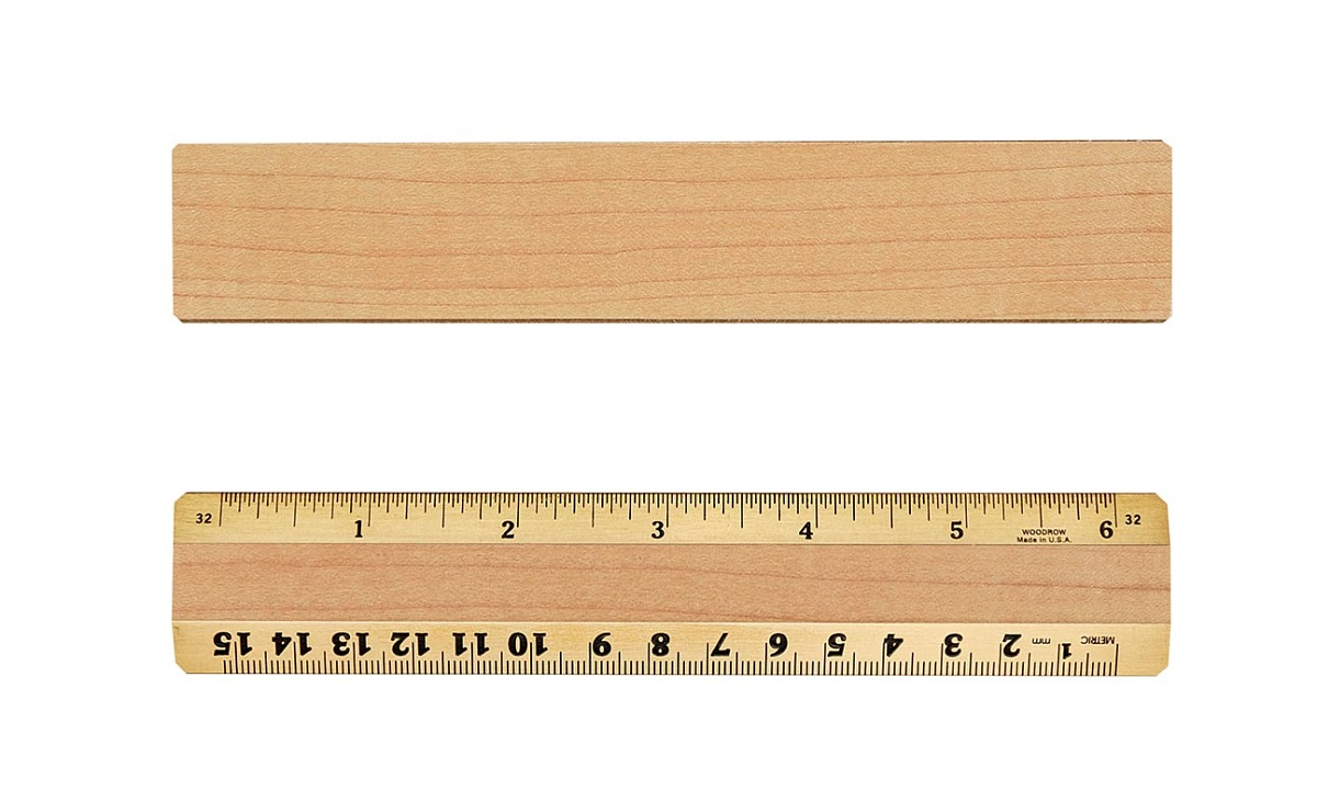 blank ruler template scale