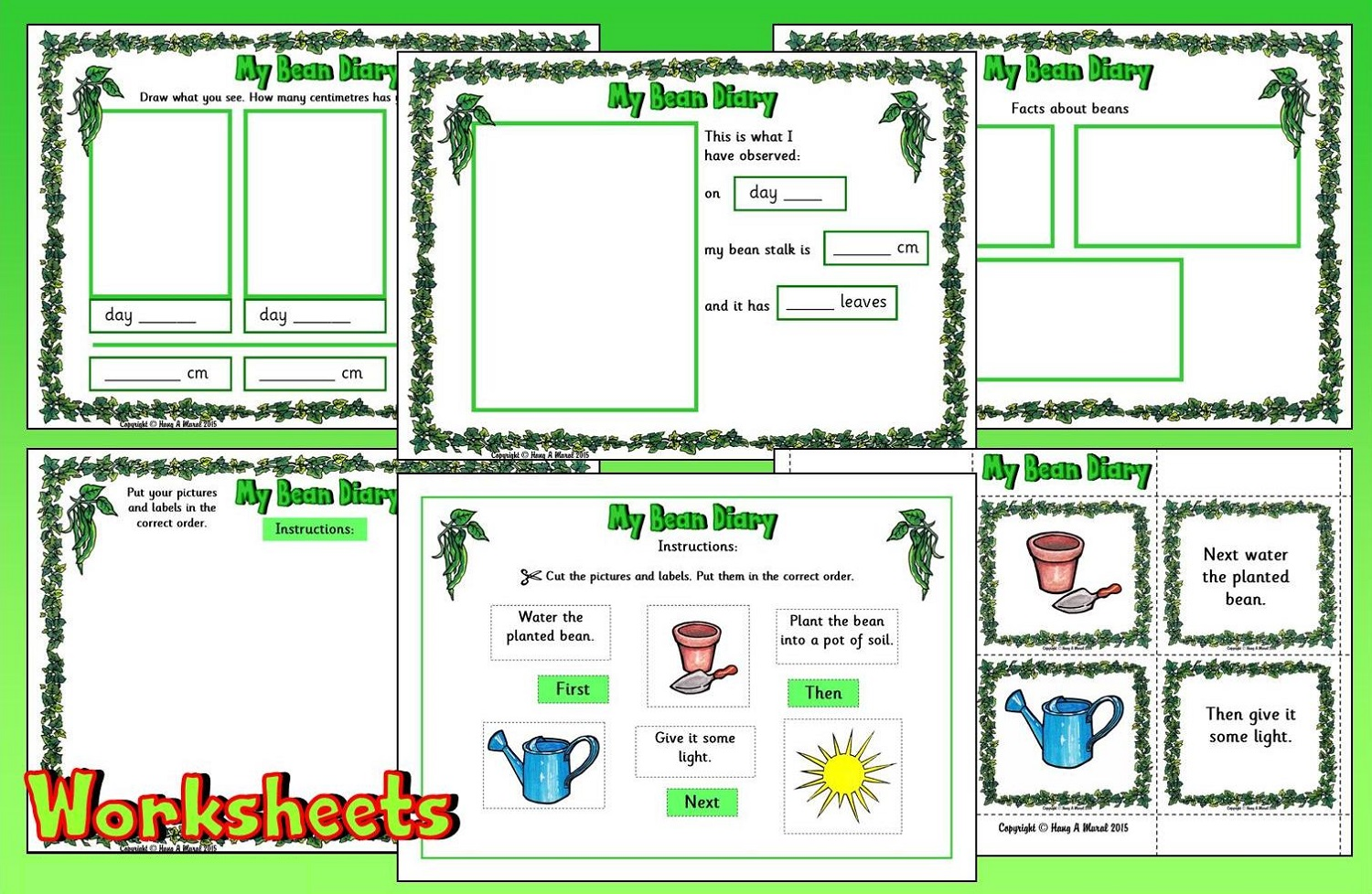 jack and the beanstalk worksheets practice