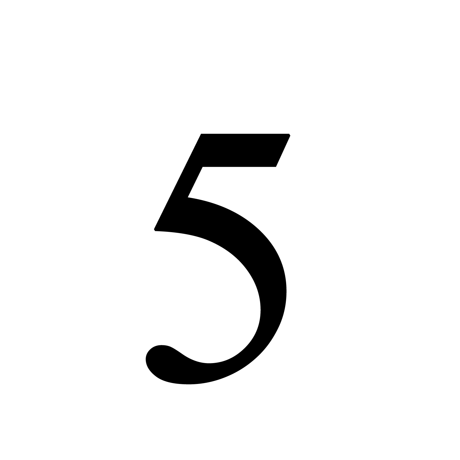 Picture Of The Number 5 Printable 101 Printable