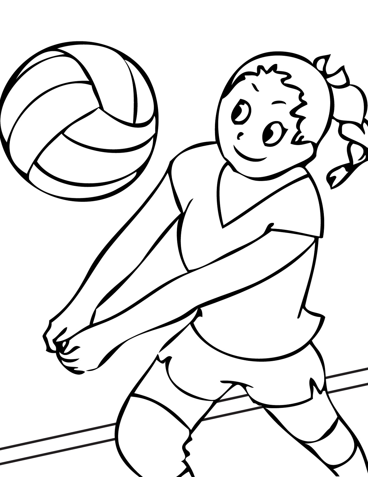 sports worksheets for kids coloring