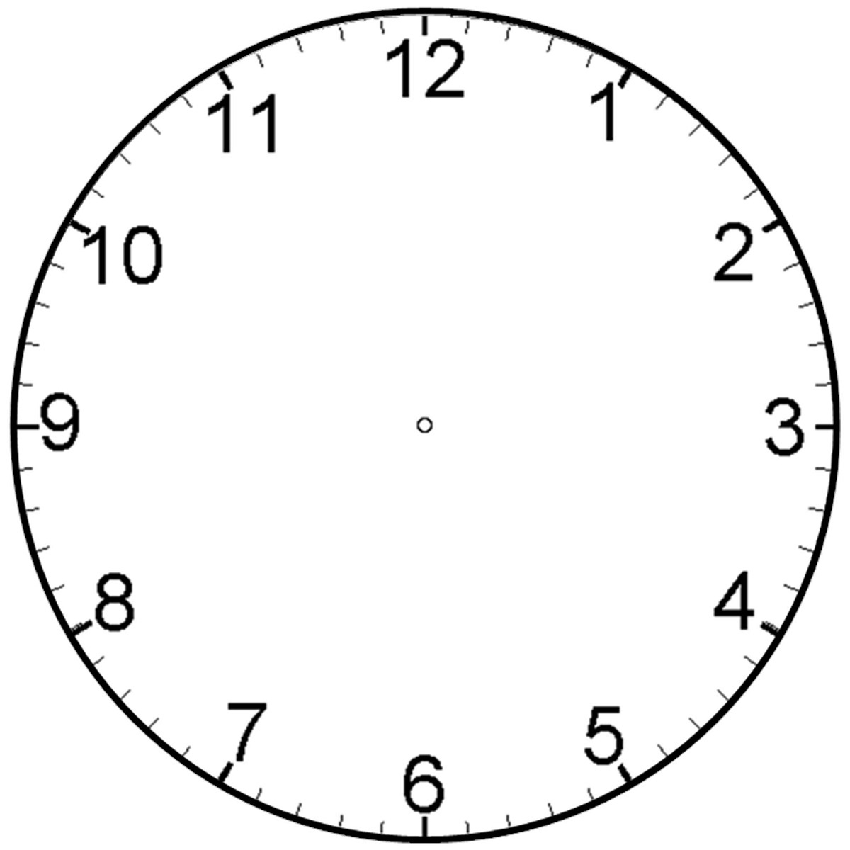 blank clock faces image
