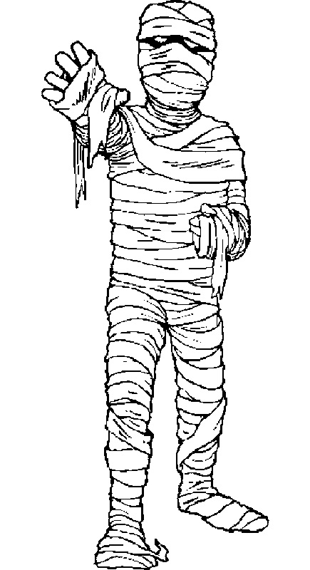 mummy pictures for kids scary