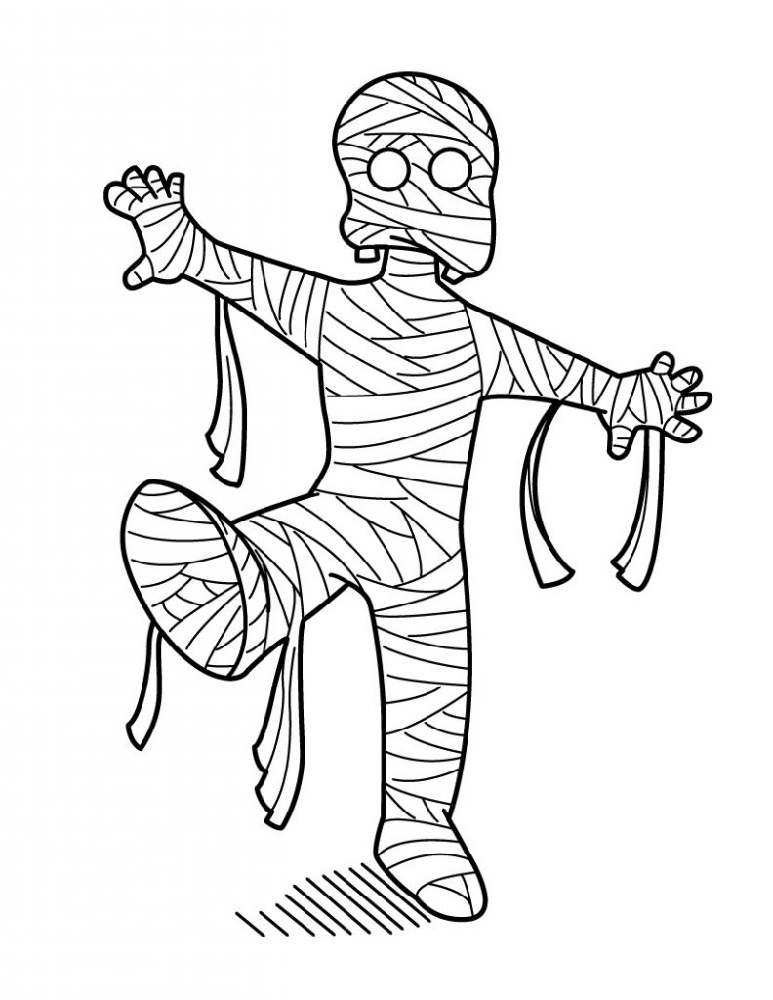 mummy pictures for kids simple