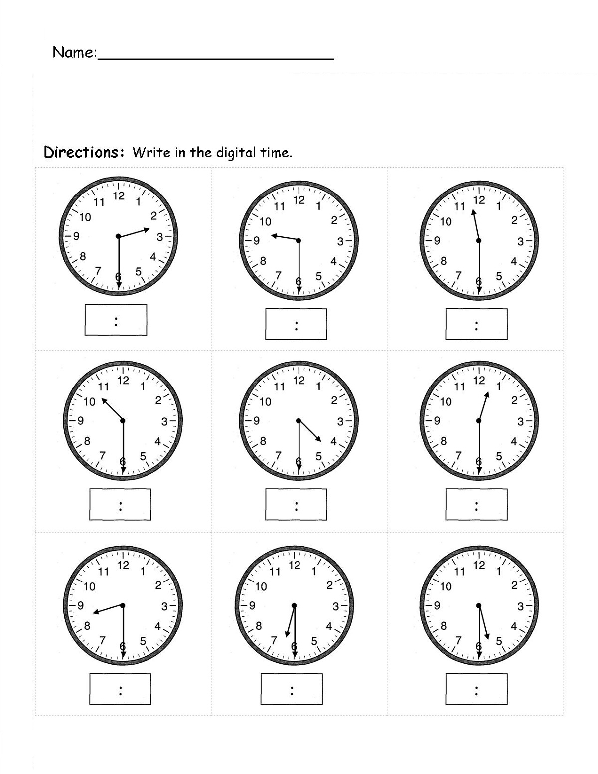 easy elapsed time worksheets printable