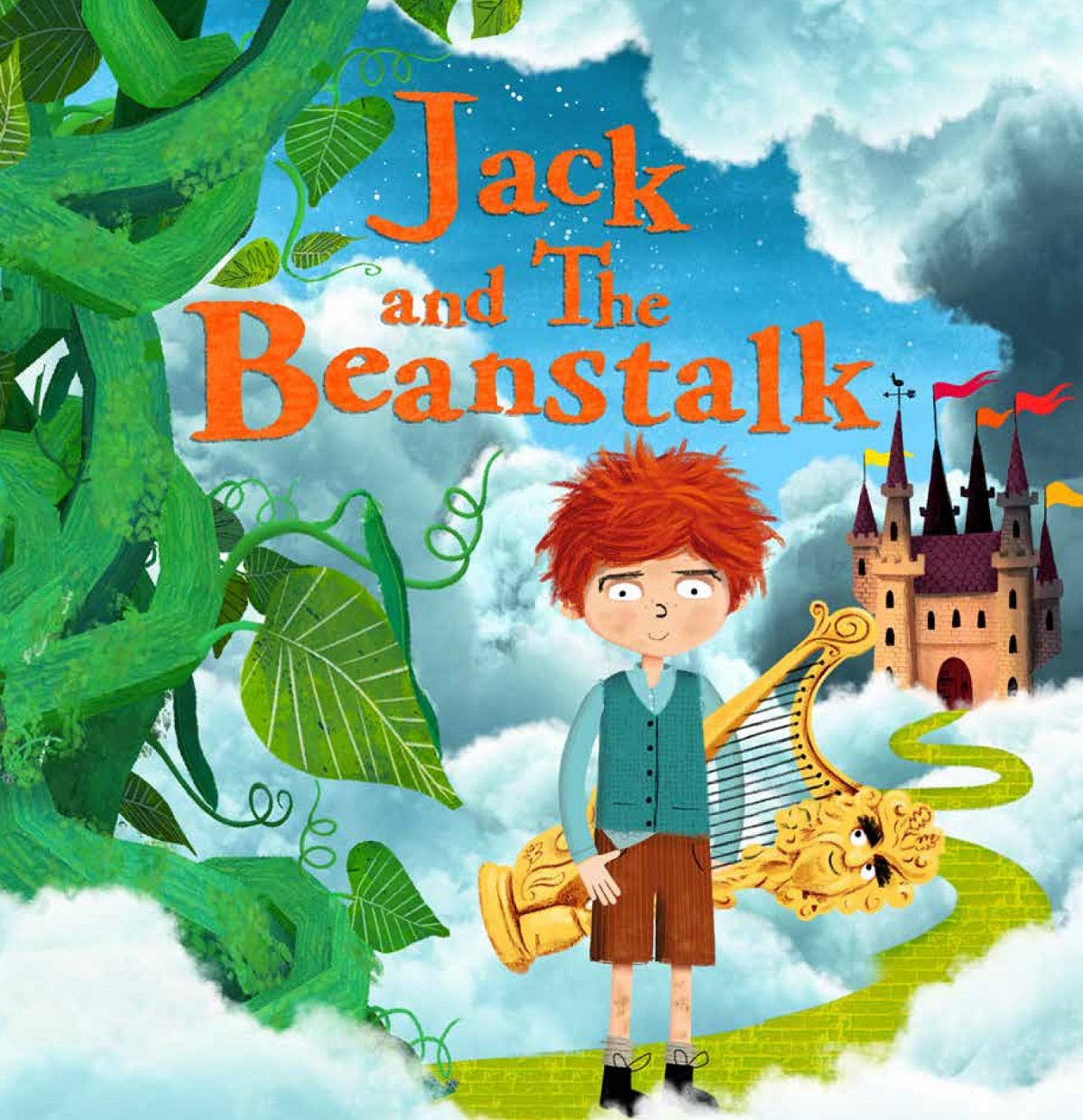 jack and the beanstalk images cover