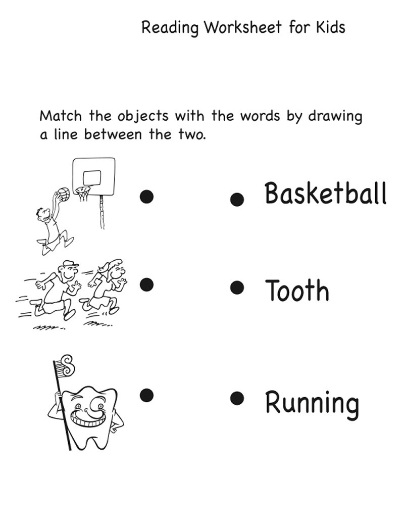 activity sheets for kids easy