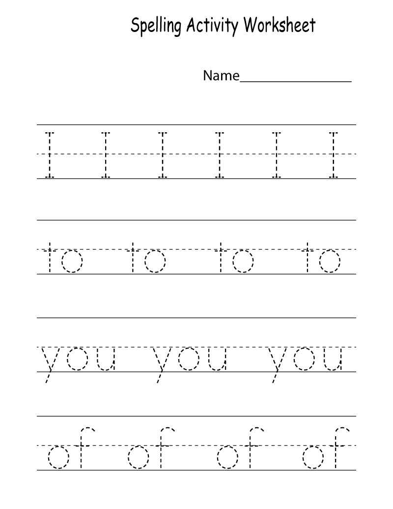 activity worksheets for kids printable