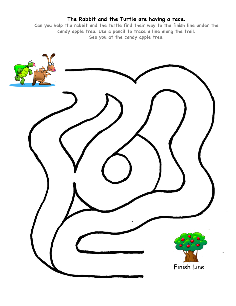 free kids mazes easy