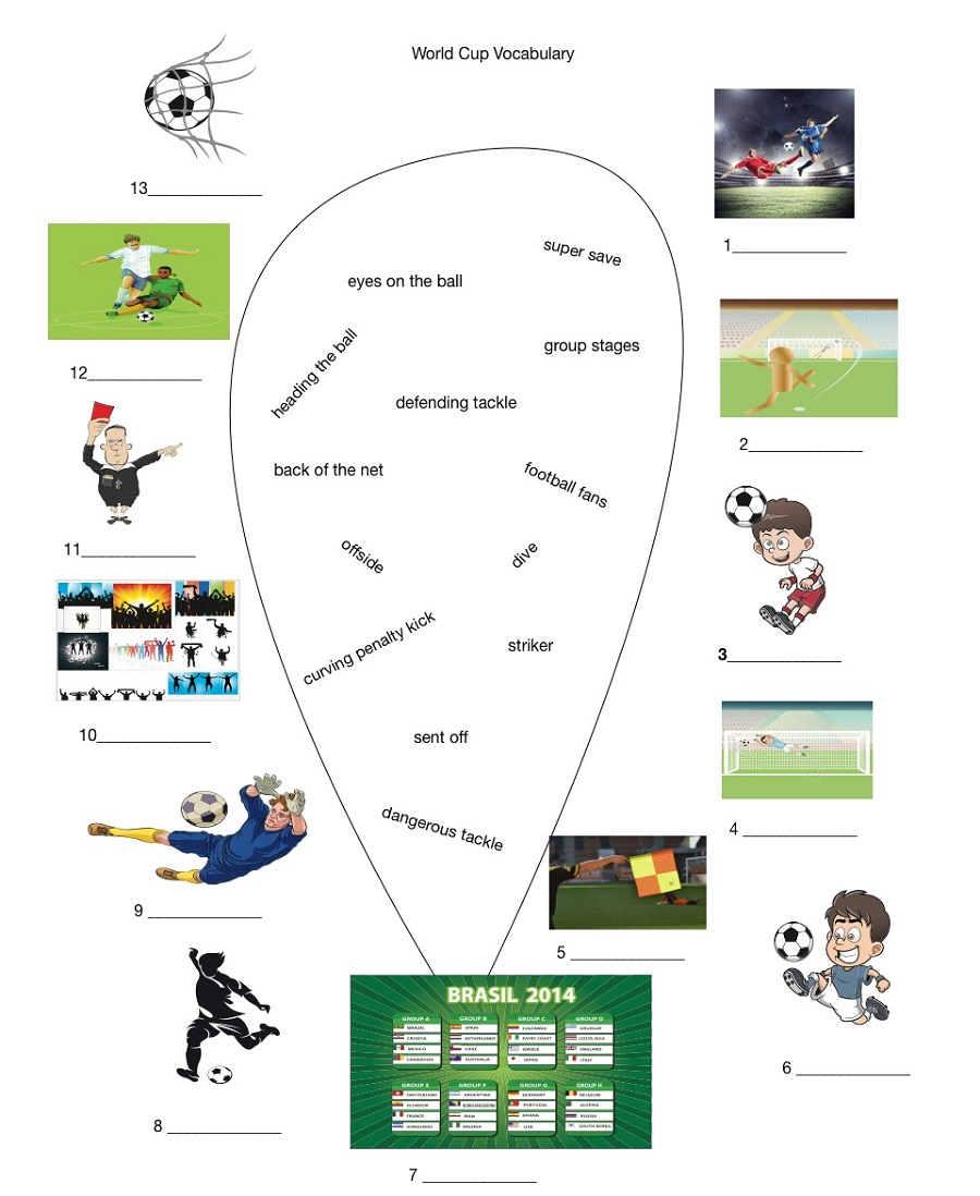 soccer worksheets for kids fun
