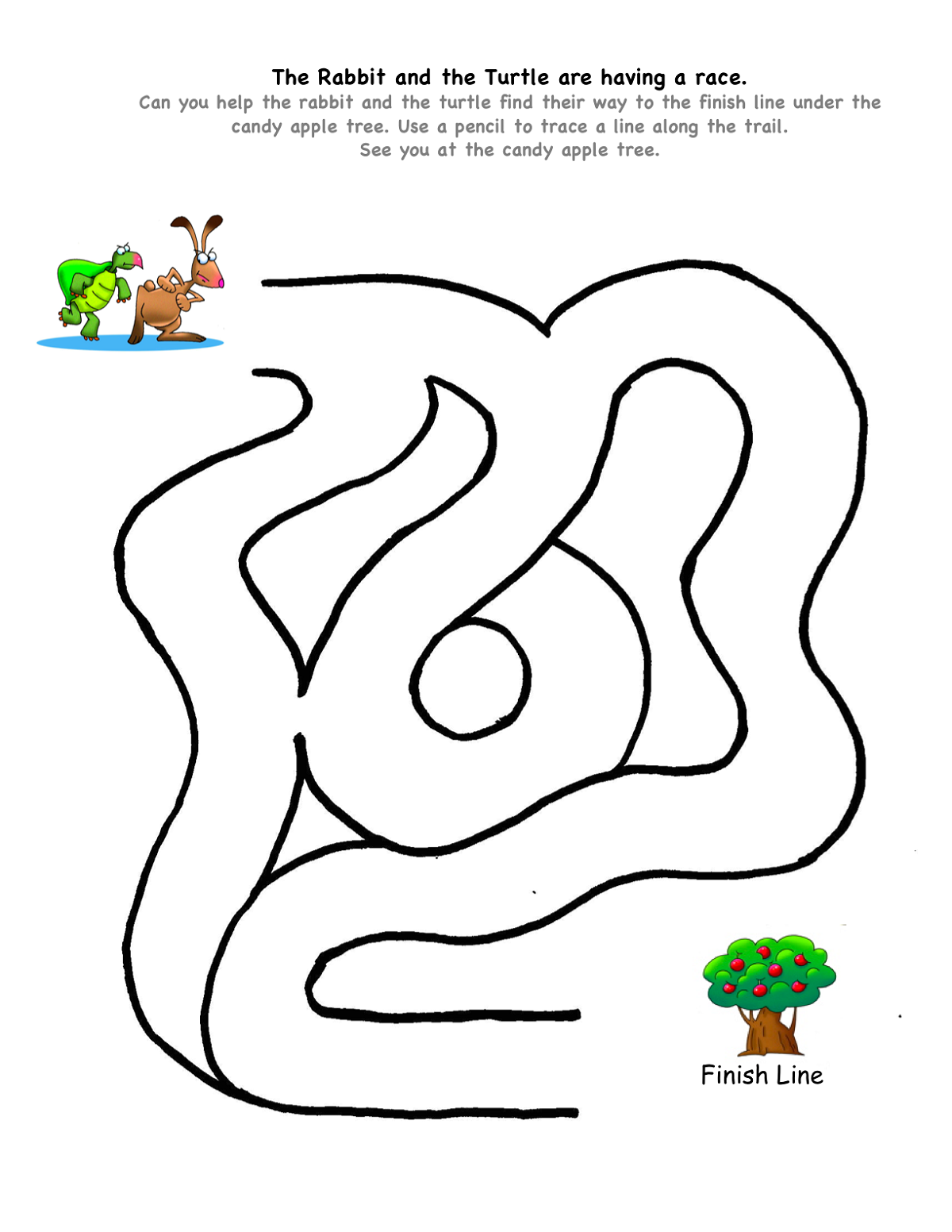 fun mazes for kids easy