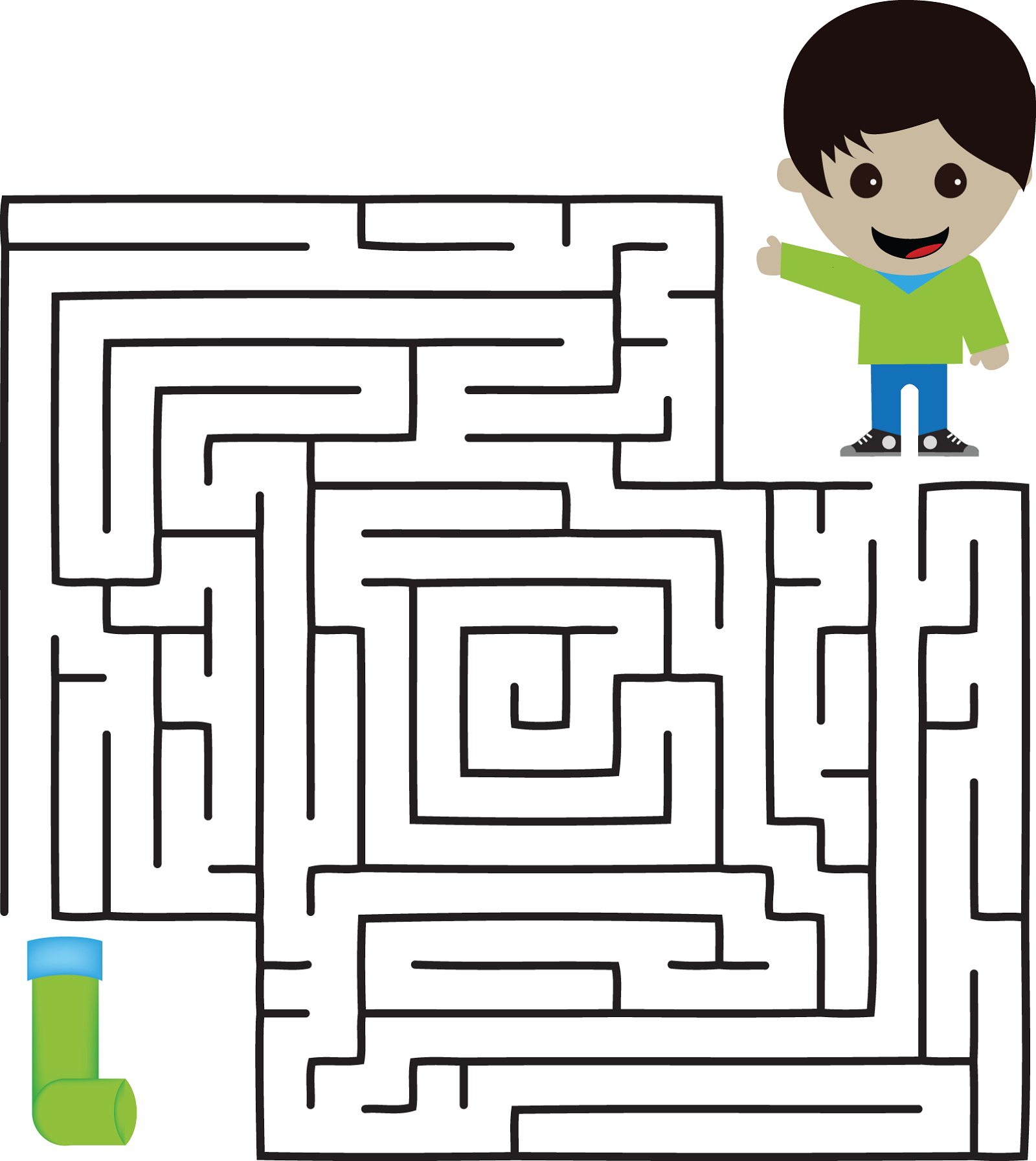 fun mazes for kids page