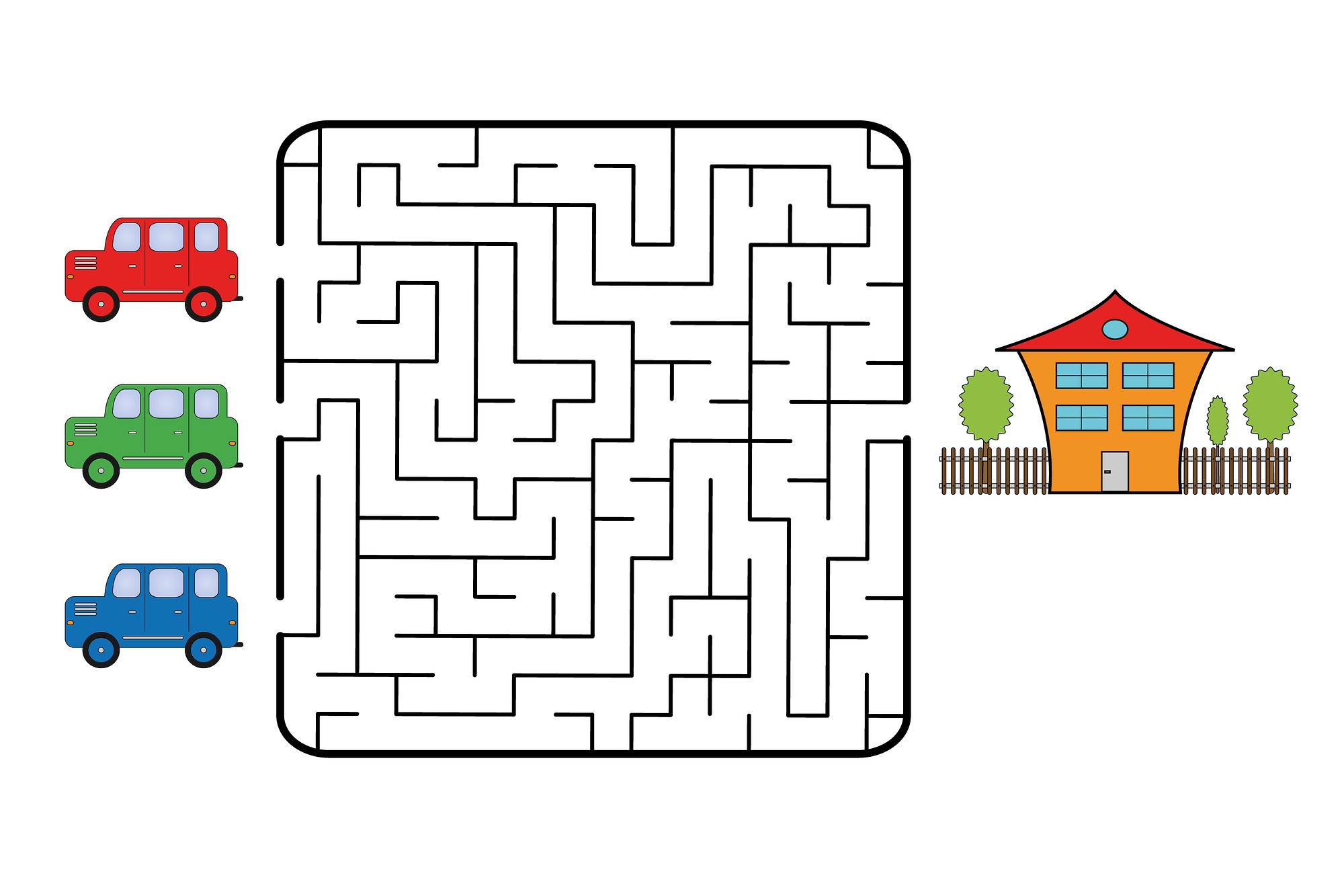 fun mazes for kids practice