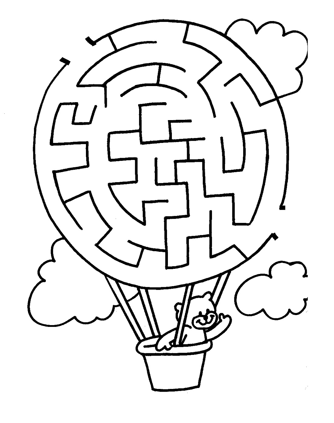 fun mazes for kids printable