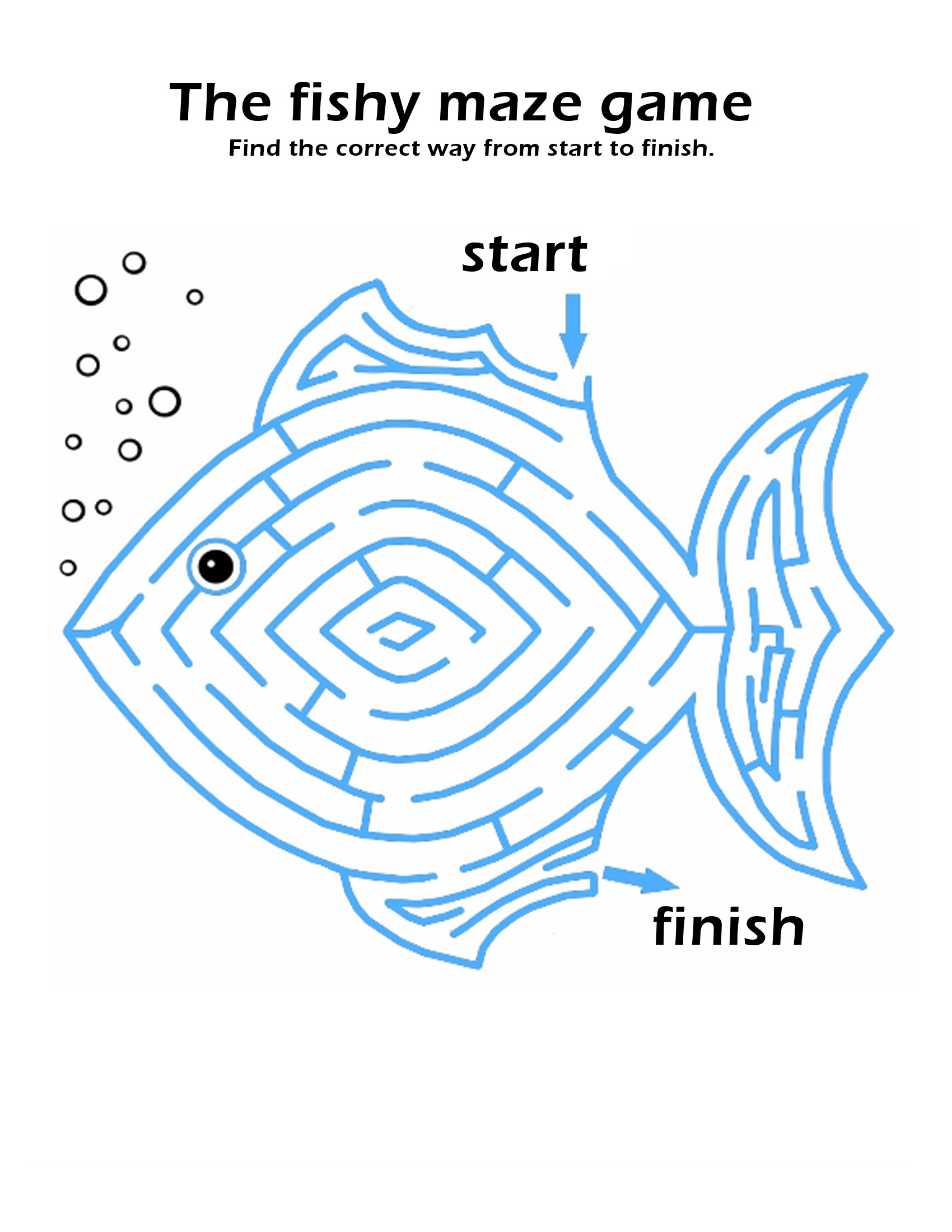 maze puzzles for kids fun