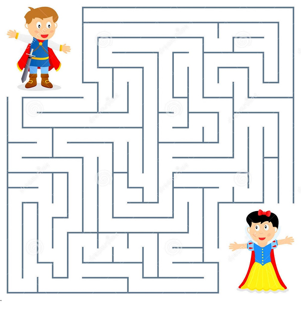 maze puzzles for kids practice