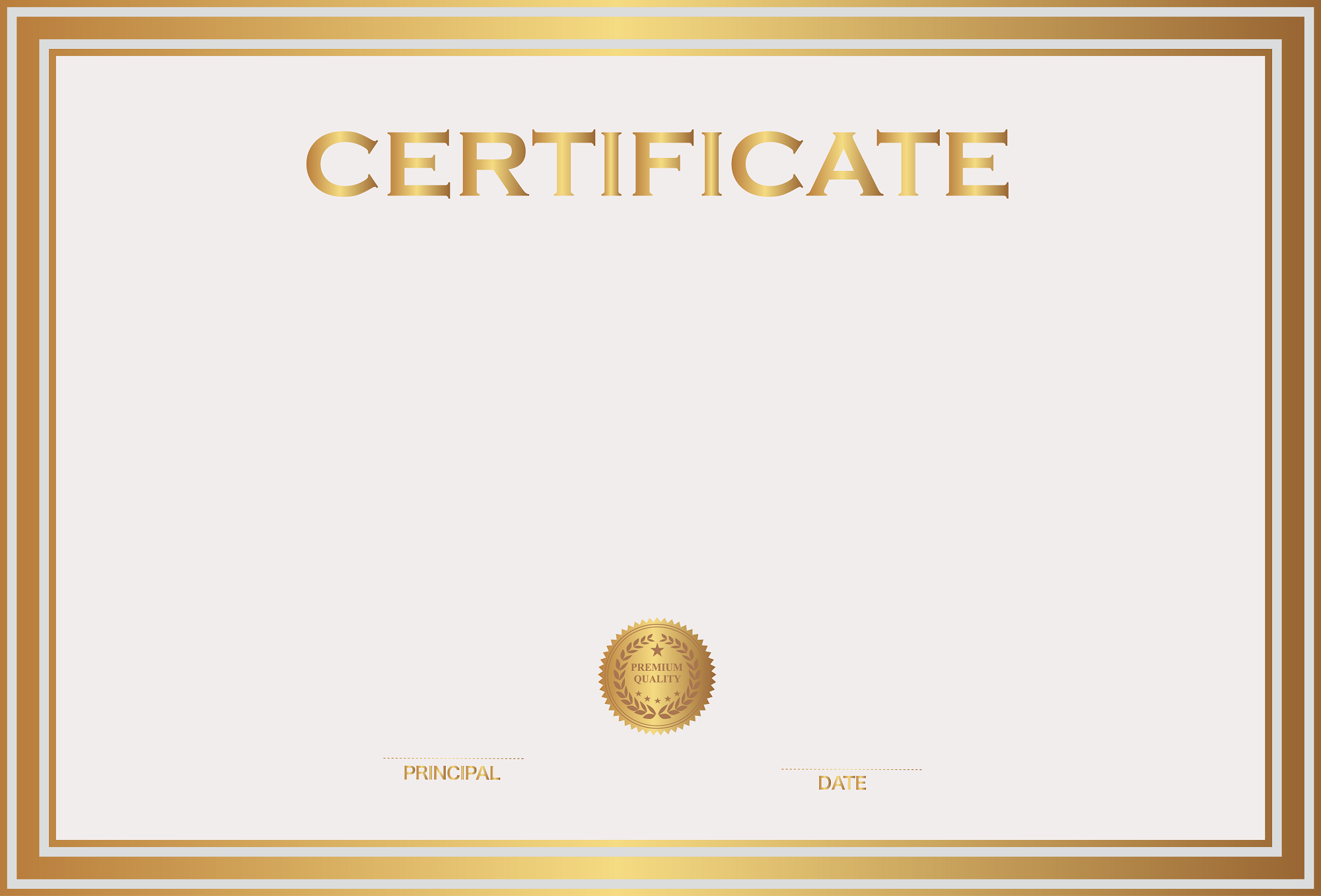 certificate templates simple