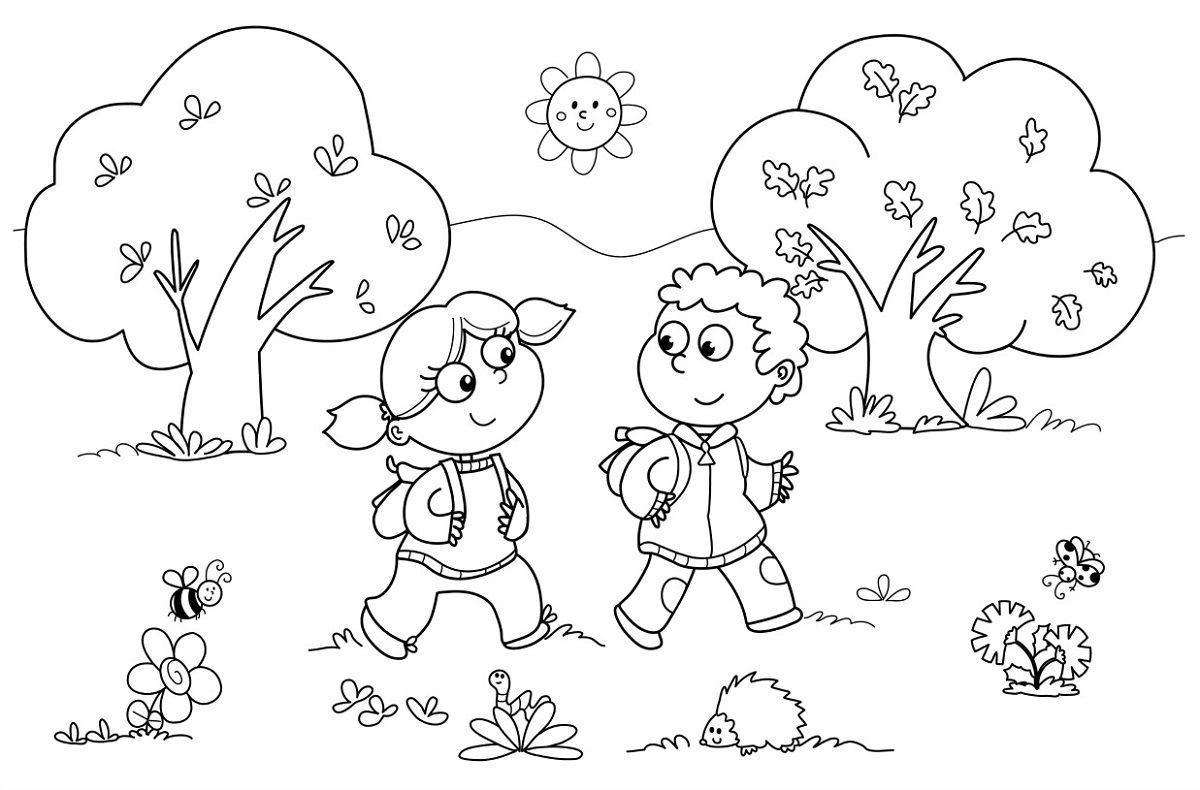 free coloring pages worksheet