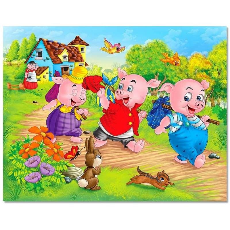 three little pigs pictures for kids
