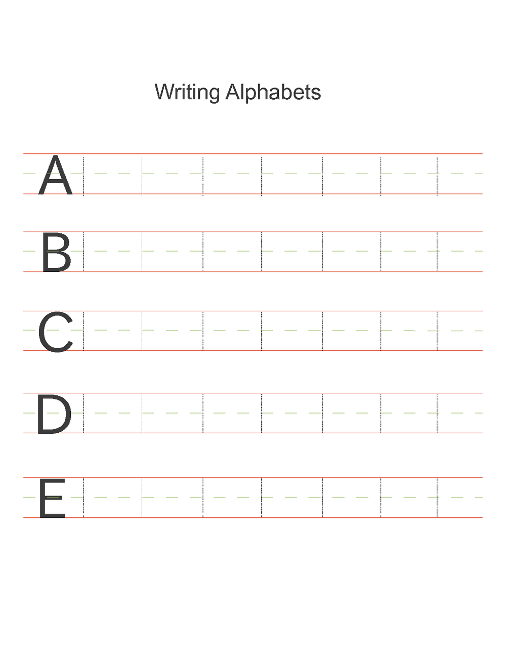 abc alphabet worksheets practice
