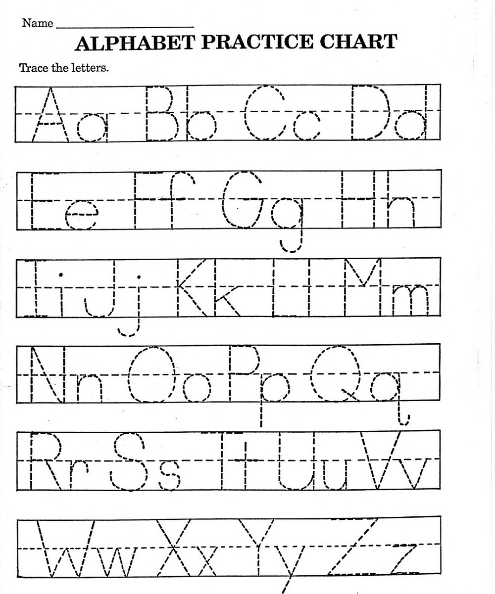 abc printable worksheet page