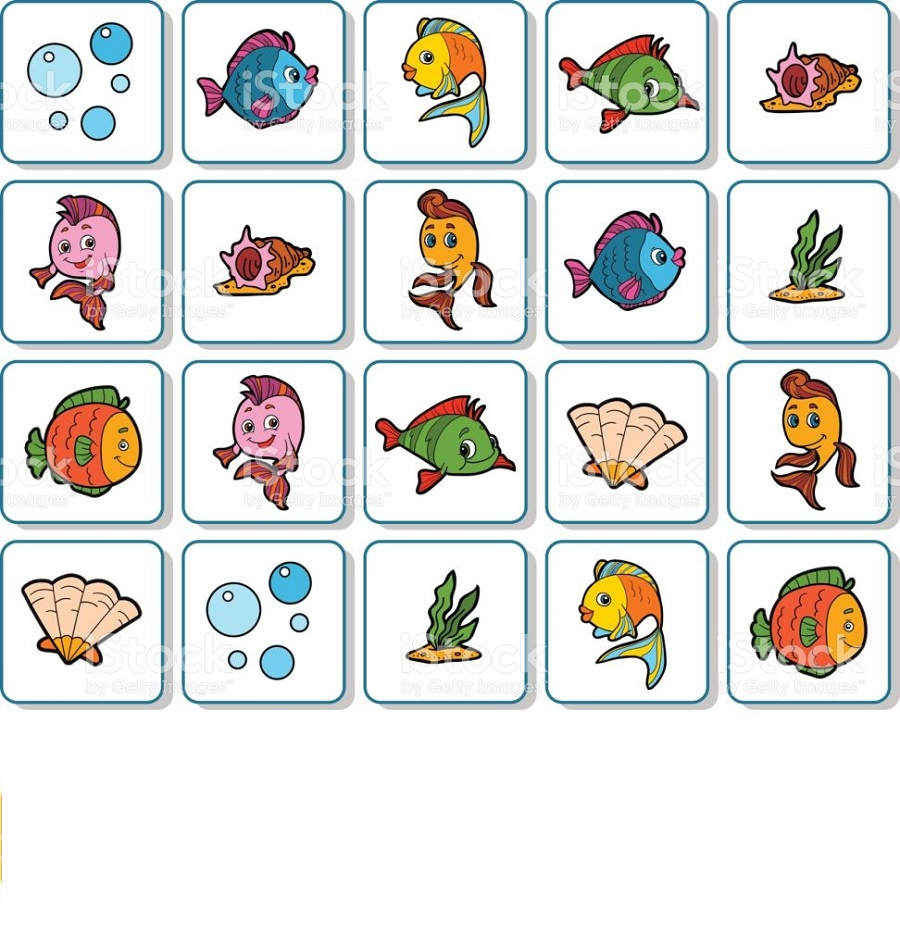 Free Printable Games For Kids Memory Game