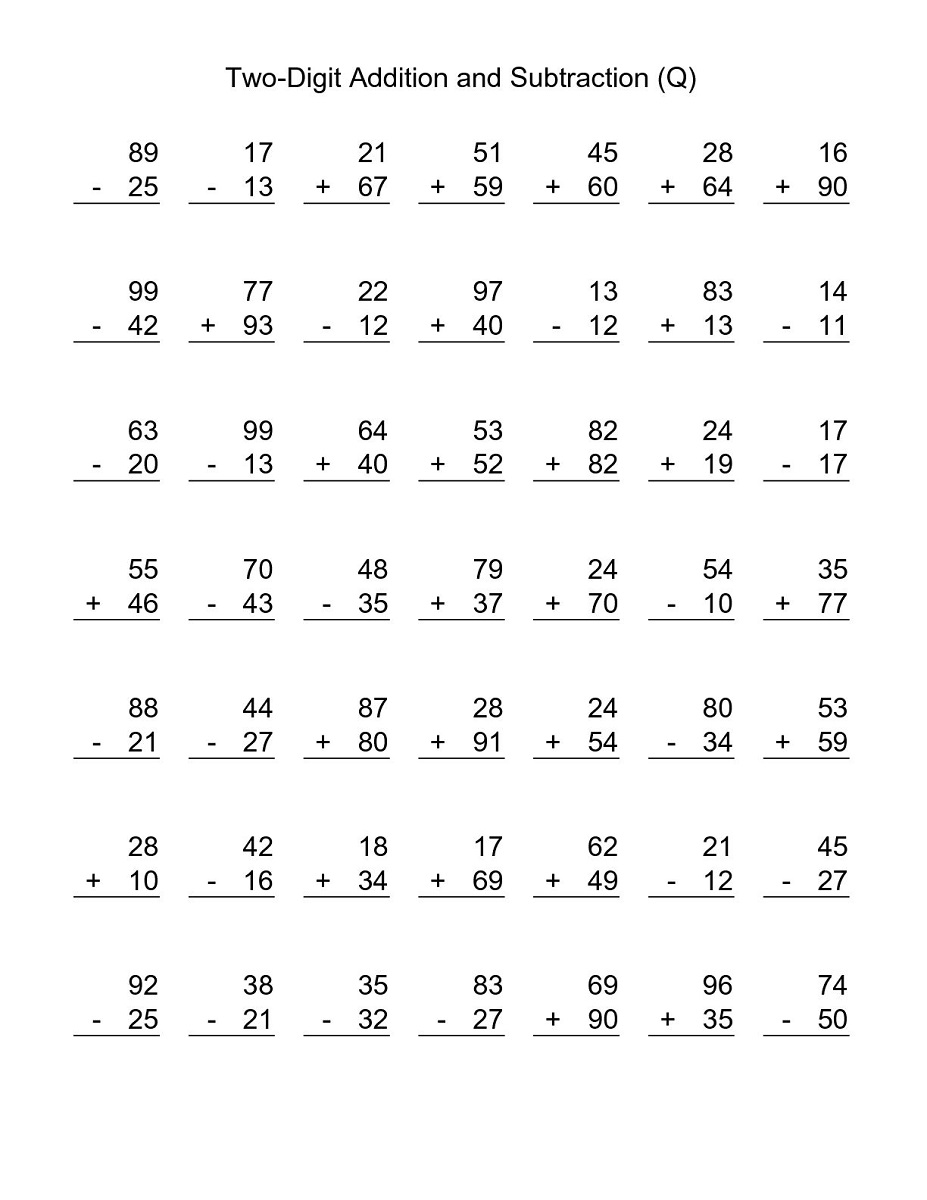 simple printable 3rd grade math worksheets for student